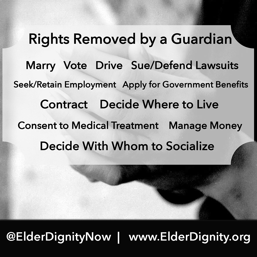 Rights Removed By A Guardian
