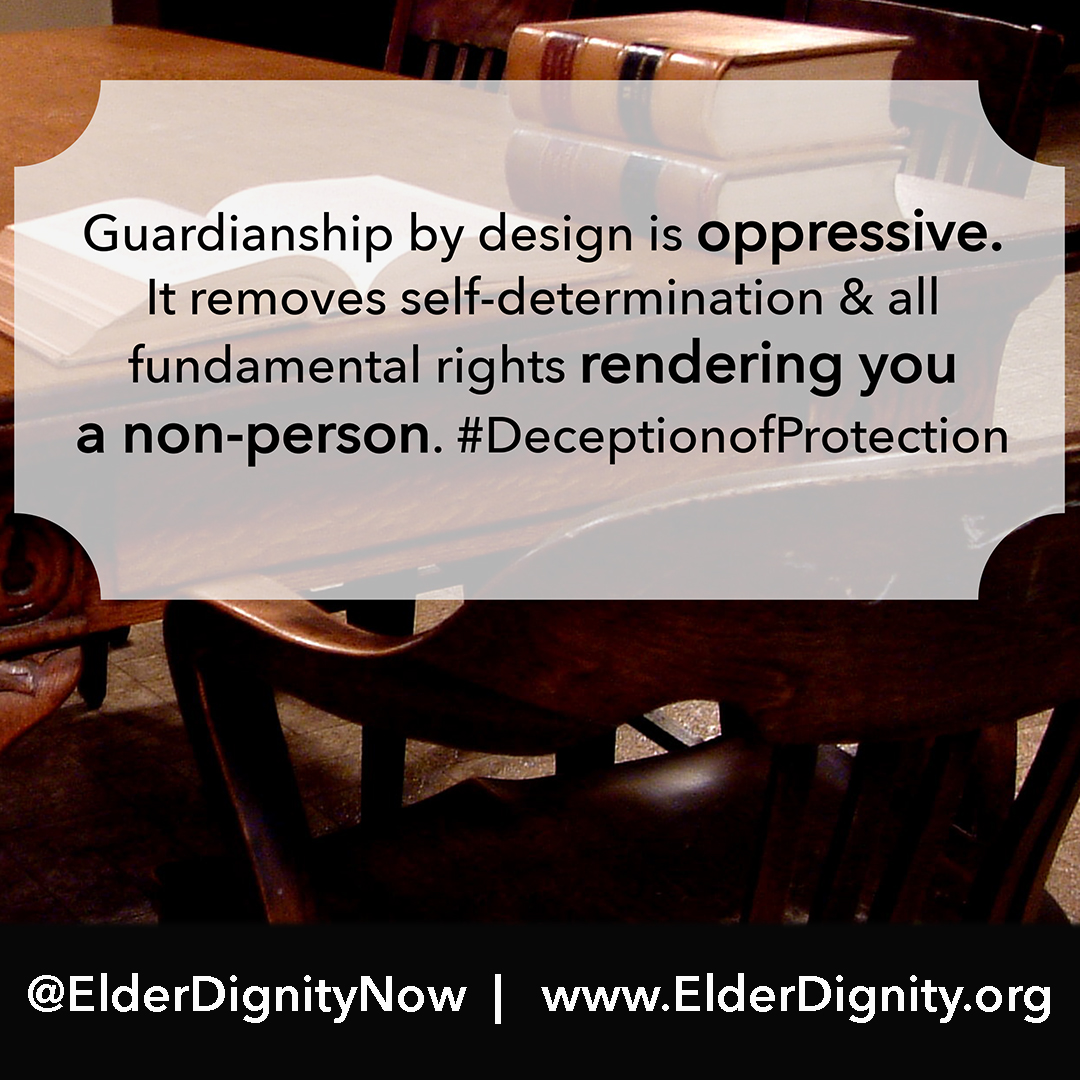 Guardianship is Oppressive