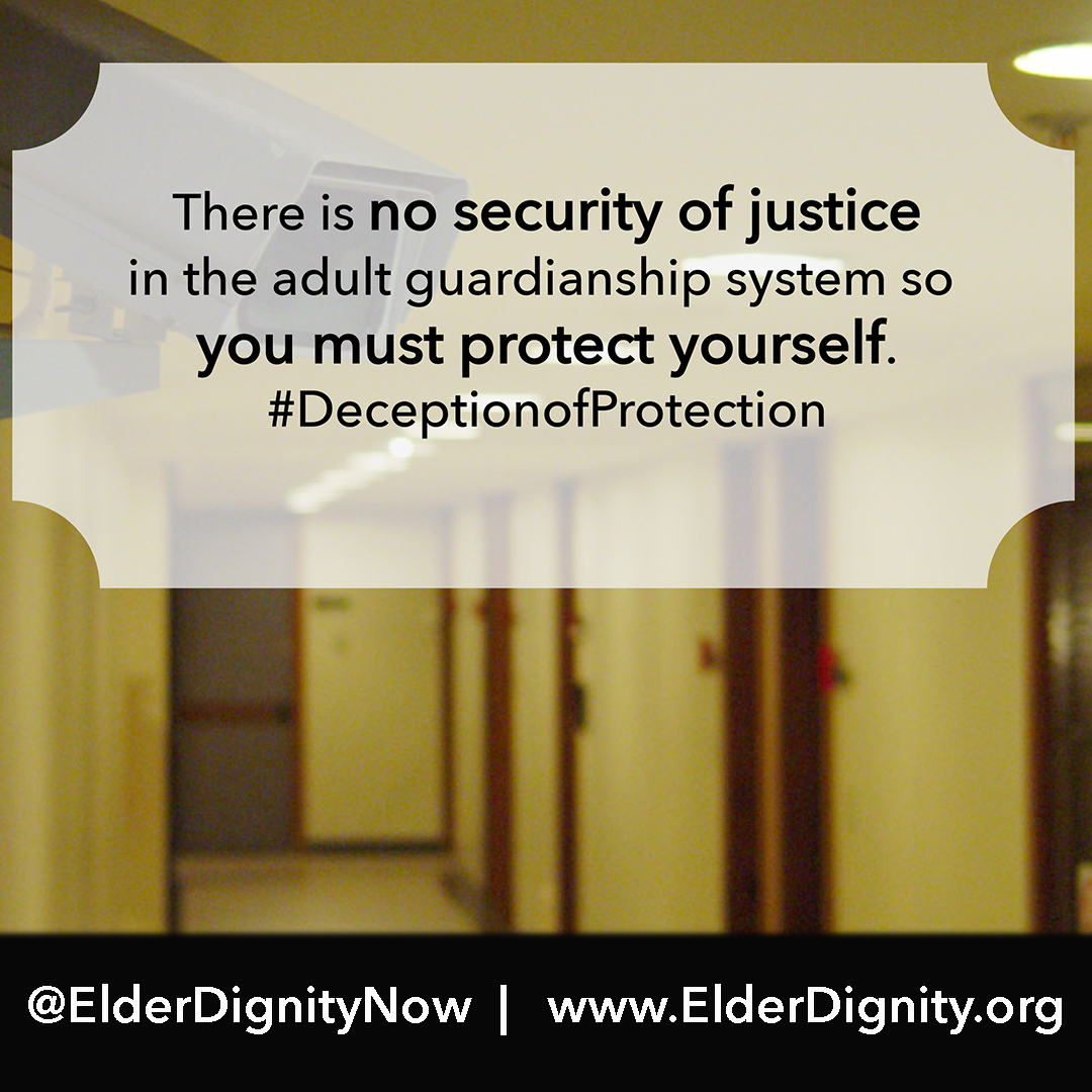 No Security of Justice in the Adult Guardianship System